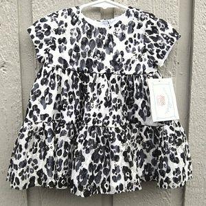 Marmellata 12M baby girl leopard dress